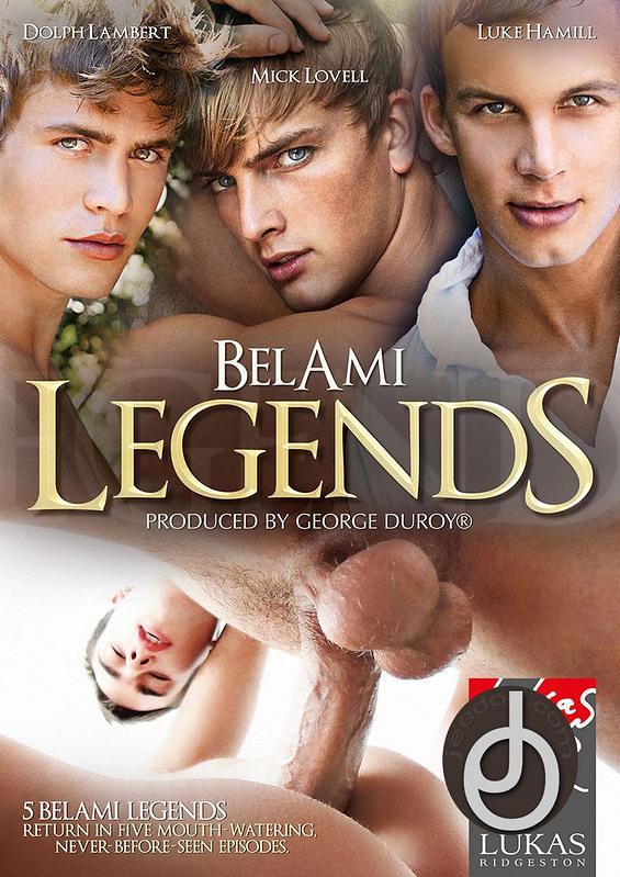 Belami Legends Gay DVD Image