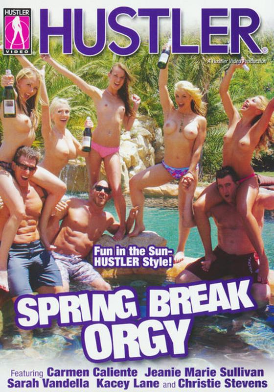 Spring Break Orgy DVD Image