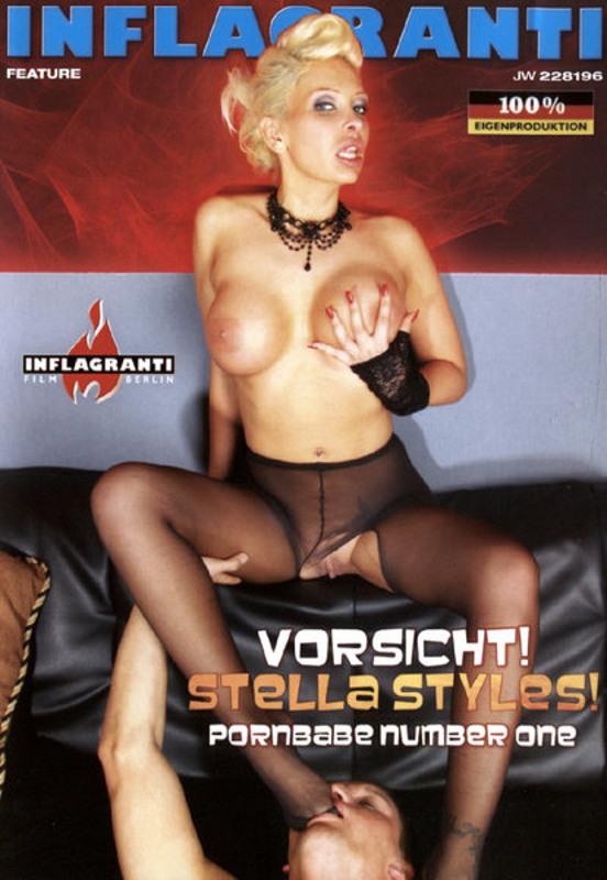 Vorsicht! Stella Styles! Pornbabe Number  1 DVD Image