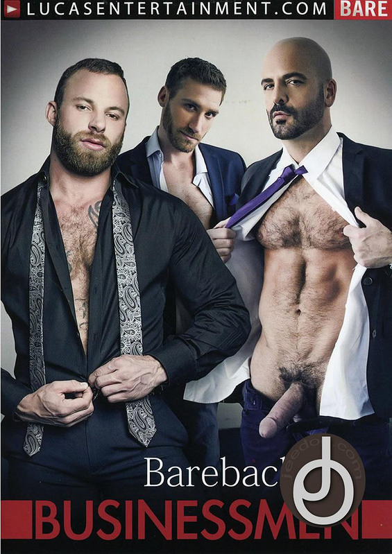 Barebacking Businessmen Gay DVD image