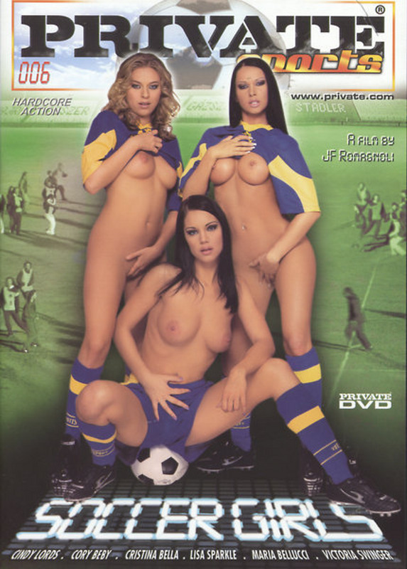 Private Sports  6 - Soccer Girls DVD Image