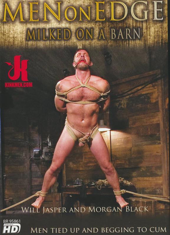 Men On Edge - Milked On A Barn Gay DVD Image
