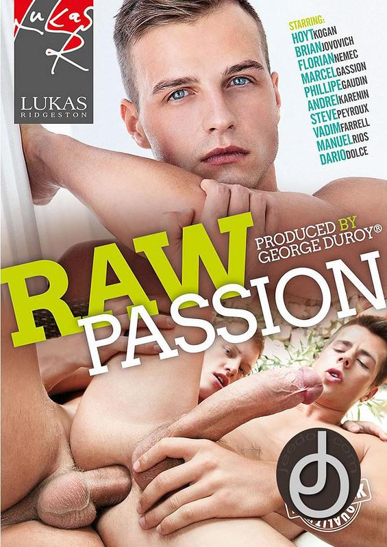 Raw Passion Gay DVD image