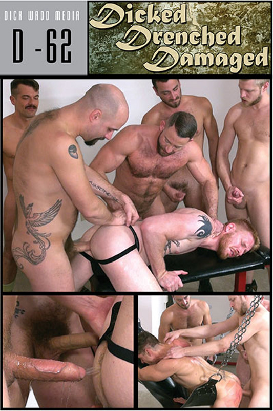 Dicked, Drenched, Damaged Gay DVD Bild