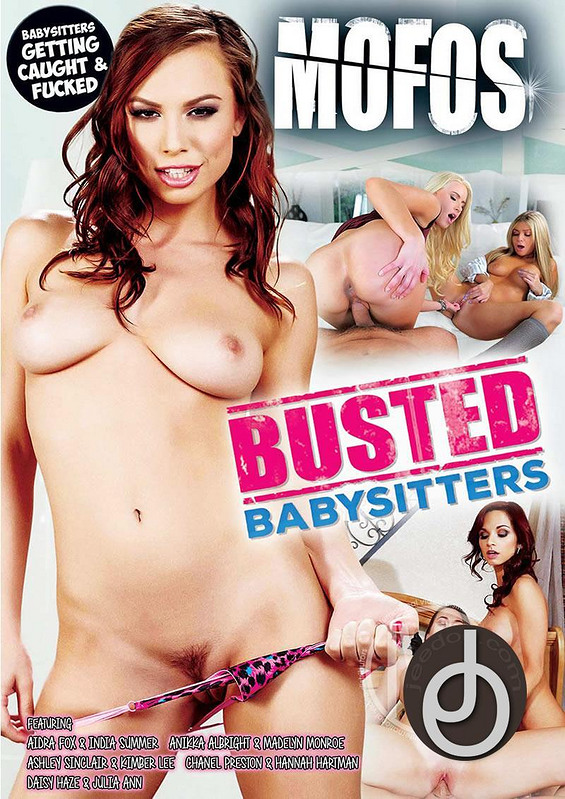Busted Babysitters DVD Image