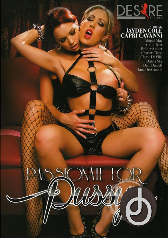 Passionate For Pussy DVD image
