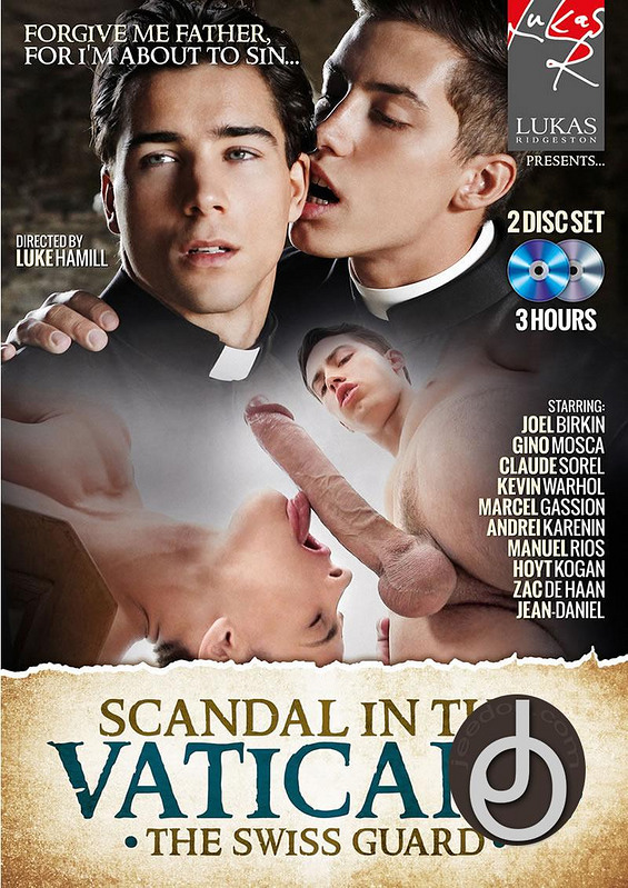 Scandal In The Vatican 2 Gay DVD Image