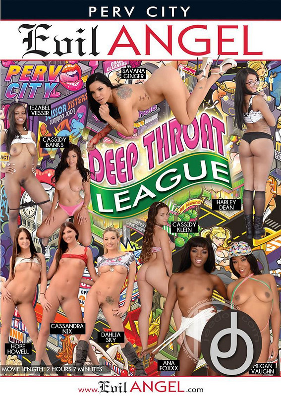 Deep Throat League DVD Image