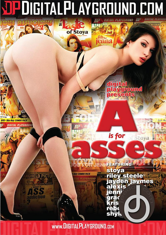 A Is For Asses DVD Image