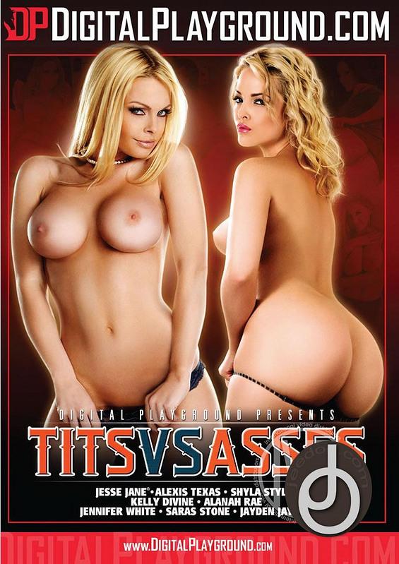Tits Vs Asses DVD Image