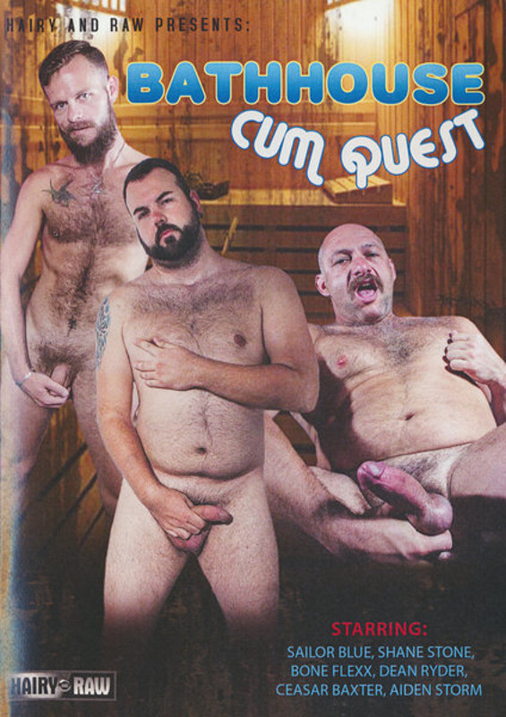 Bathhouse Cum Quest Gay DVD image