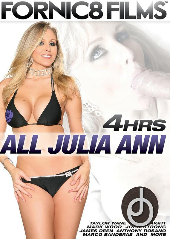 4hr All Julia Ann DVD Image