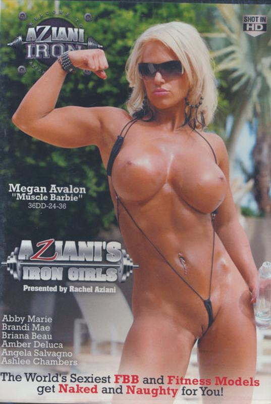 Aziani's Iron Girls  1 DVD Image
