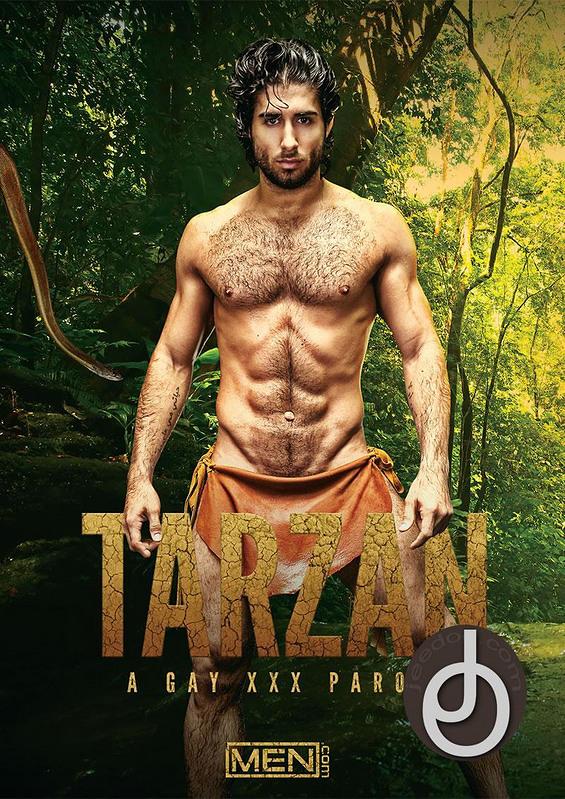 Tarzan: A Gay Parody Gay DVD Image