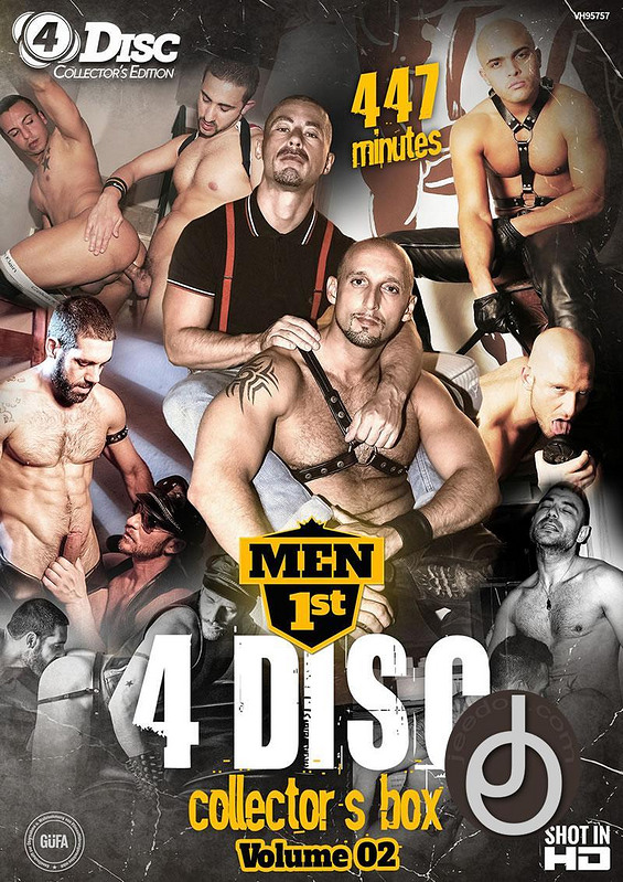 Men 1st 4 Disc Box Set 2 Gay DVD Image