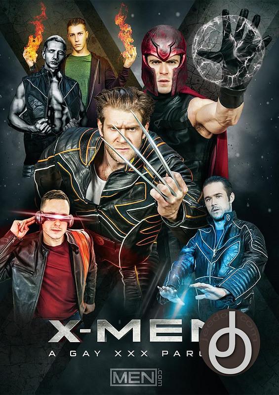 X-men: A Gay Xxx Parody Gay DVD Image
