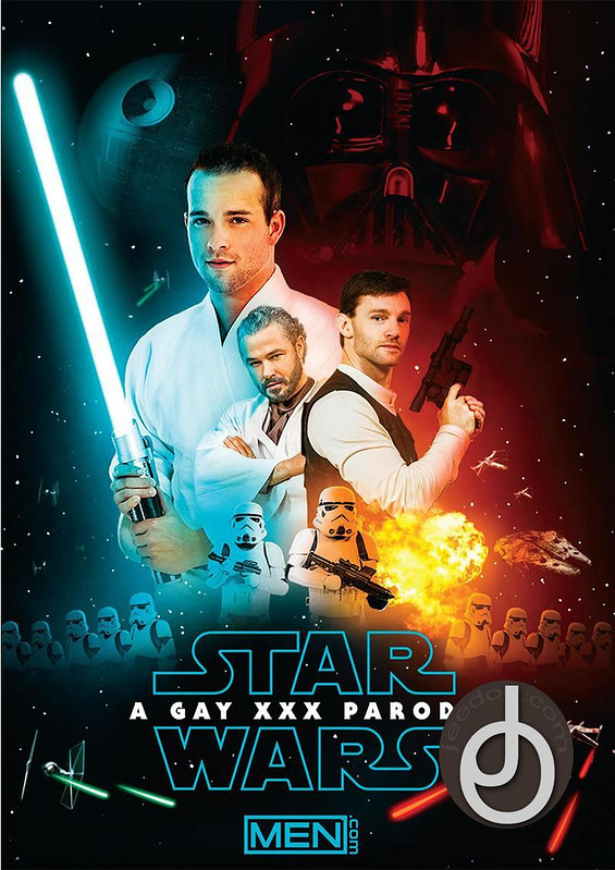 Star Wars: A Xxx Gay Parody Gay DVD Image