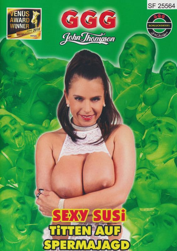 Sexy Susi - Titten auf Spermajagd DVD Image