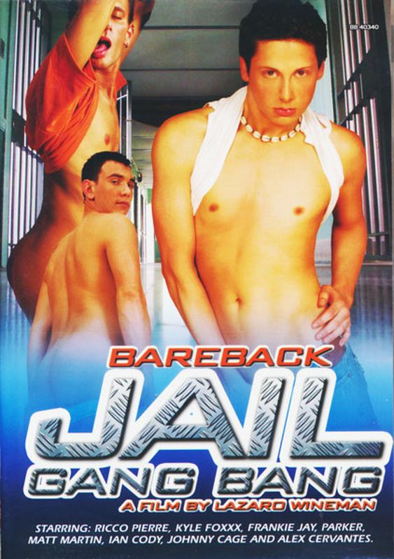 Bareback Jail Gang Bang Gay DVD Bild