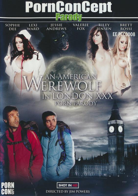 An American Werewolf In London XXX Porn Parody DVD Image