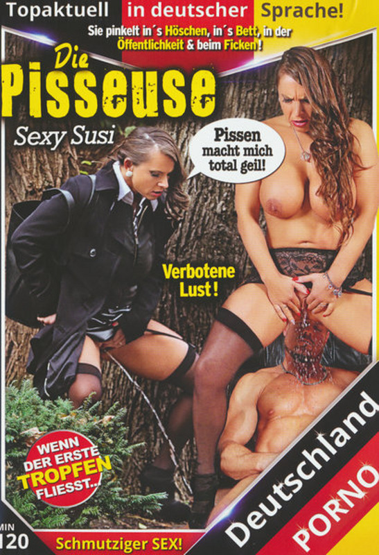 Die Pisseuse: Sexy Susi DVD Image