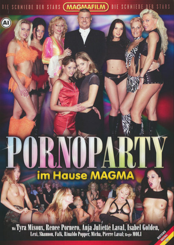 Pornoparty im Hause Magma DVD Image