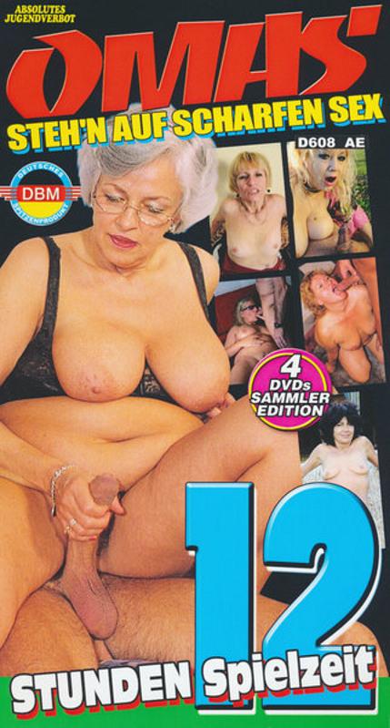 Omas steh'n auf scharfen Sex  [4 DVDs] DVD image
