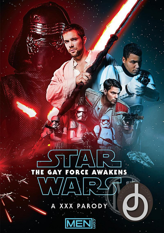 Star Wars Xxx Gay Force Awake Parody Gay DVD Image