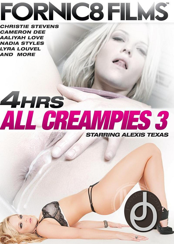 4hr All Creampies 3 DVD Image