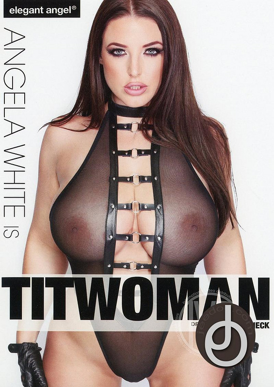 Angela White Is Titwoman DVD Image