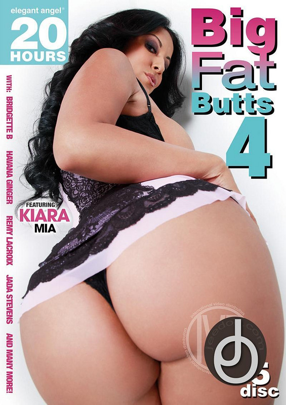 20hr Big Fat Butts 4 DVD Image
