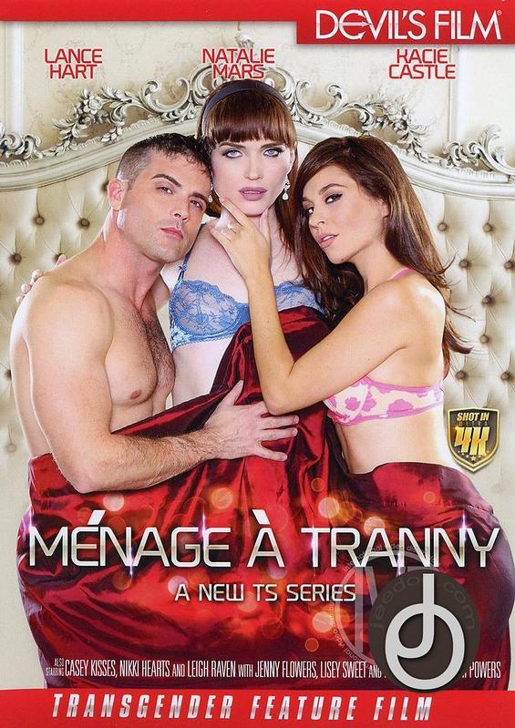 Menage A Tranny DVD image