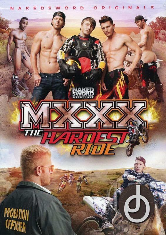 Mxxx The Hardest Ride Gay DVD image