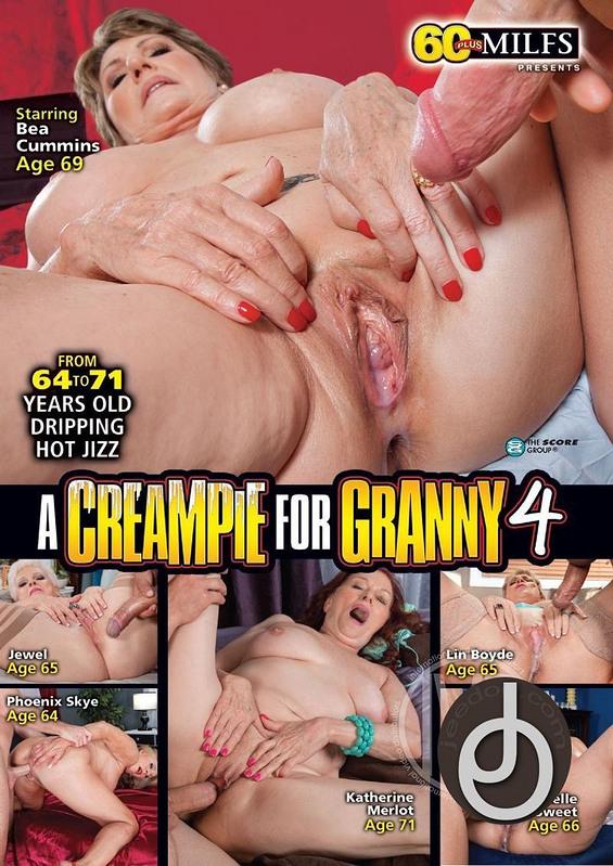 Creampie For Granny 4 DVD image