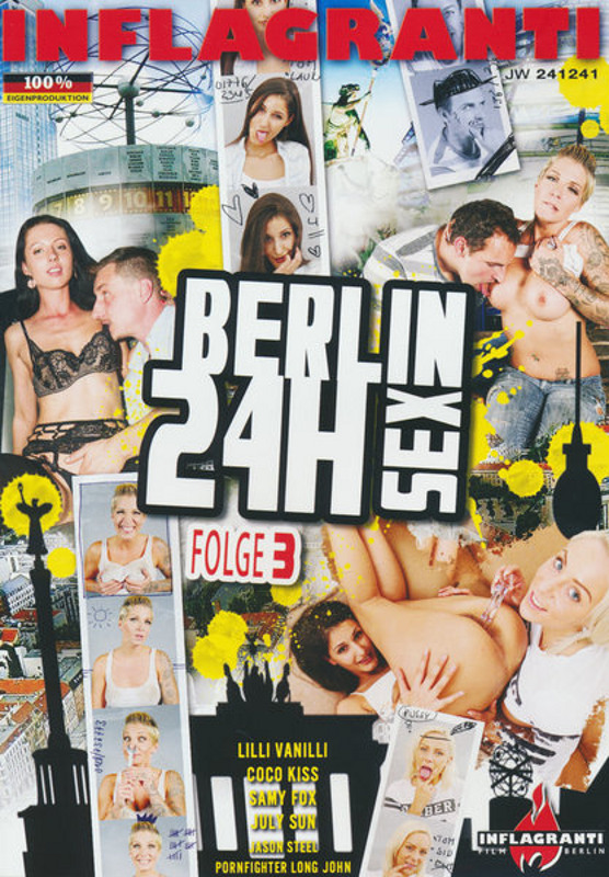 Berlin 24h Sex  3 DVD Image