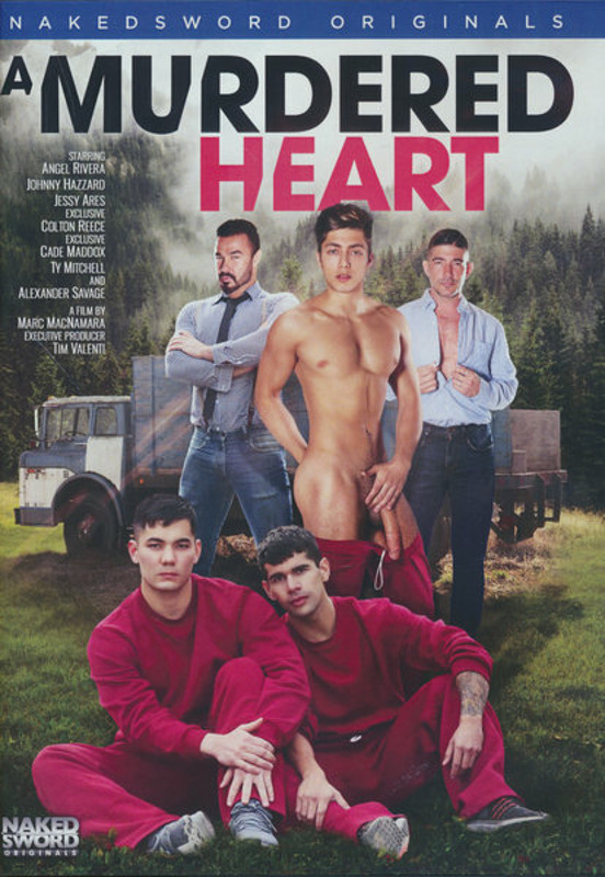 A Murdered Heart Gay DVD Image