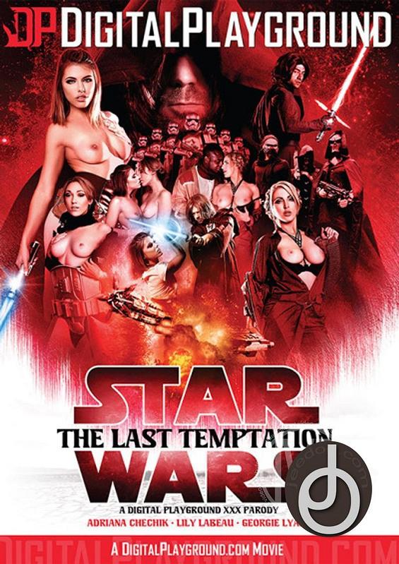 Star Wars The Last Temptation Parody DVD Image
