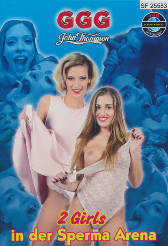 2 Girls in der Sperma Arena DVD Image