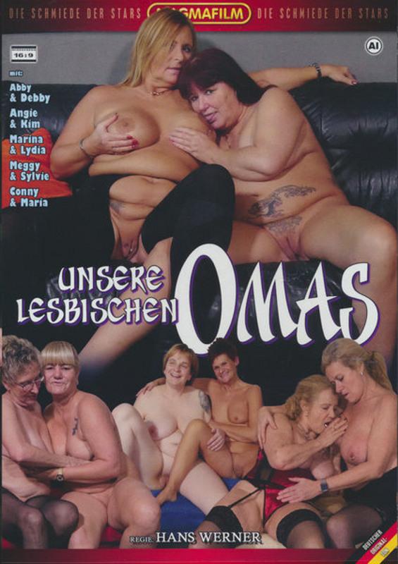 Unsere Lesbische Omas DVD image