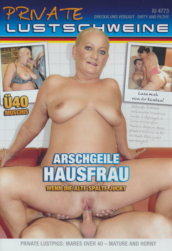 Private Lustschweine - Arschgeile Hausfrau DVD Image