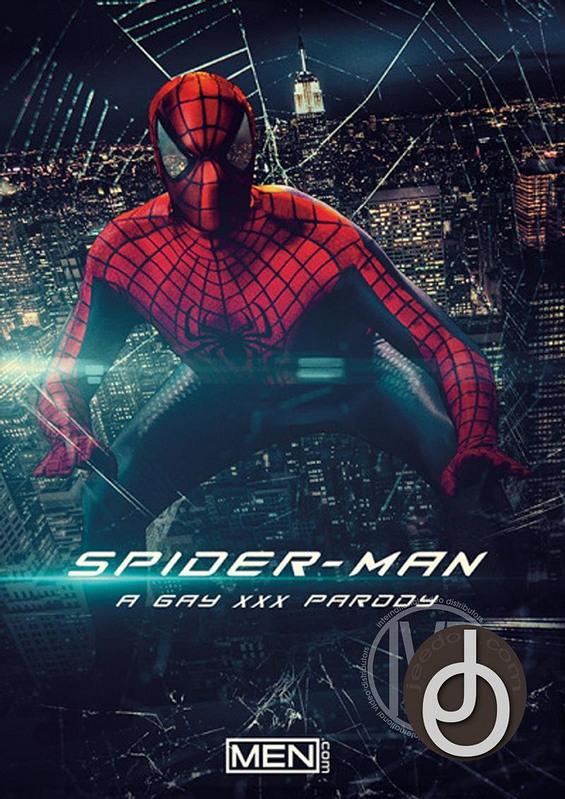 Spiderman A Gay Xxx Parody Gay DVD Image
