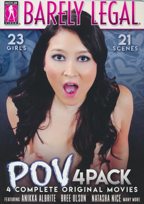 Barely Legal P.O.V.  (4 DVDs) DVD Image