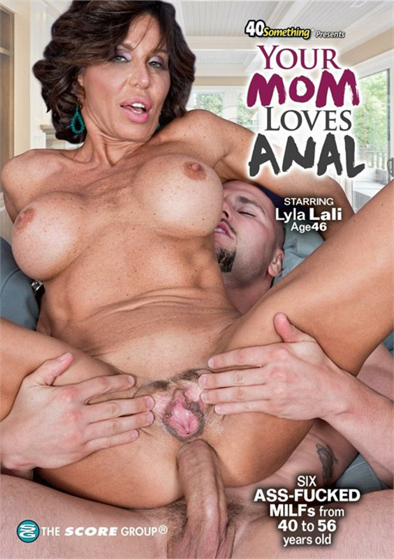 Your Mom Loves Anal DVD image