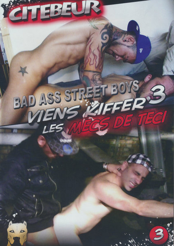 Viens Kiffer Les Mecs De Teci  3 - Bad Ass... Gay DVD image