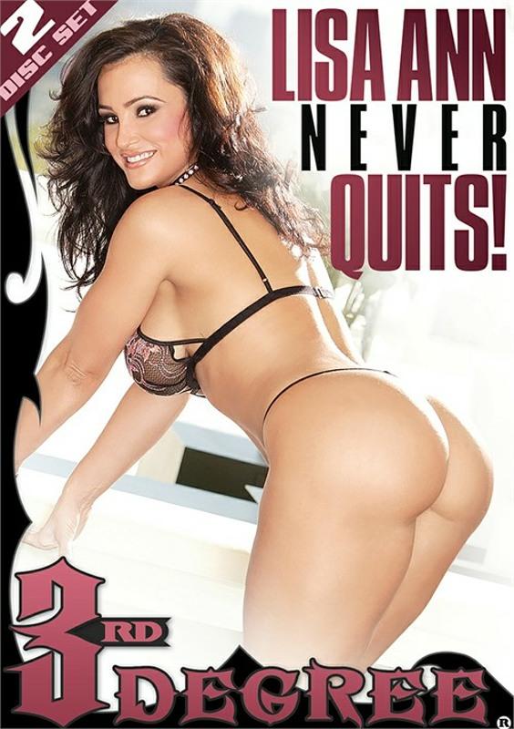 Lisa Ann Never Quits  (2 DVDs) DVD Image
