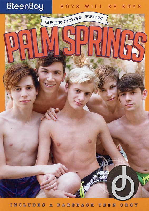 Greetings From Palm Springs Gay DVD Image