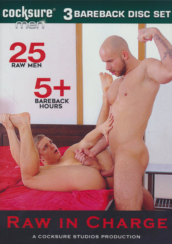 Raw In Charge  [3 DVDs] Gay DVD image