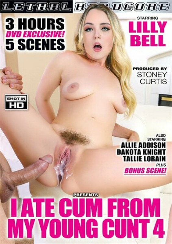I Ate Cum From My Young Cunt 4 DVD Image