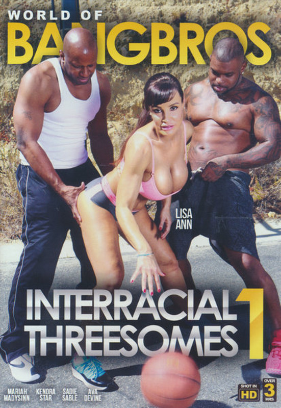 Interracial Threesomes  1 DVD Image