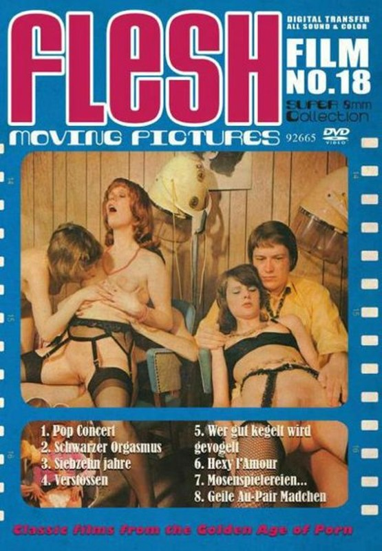 Flesh Film No. 18 DVD Image
